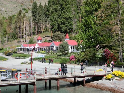 Walter Peak側の桟橋