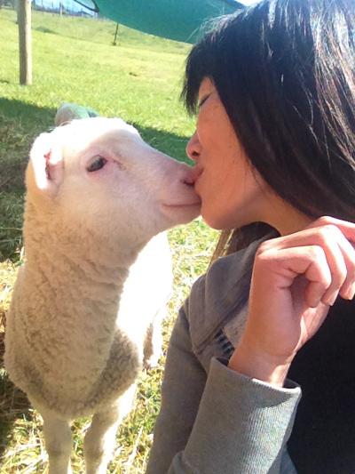 こまちはすぐキスしてくれた。